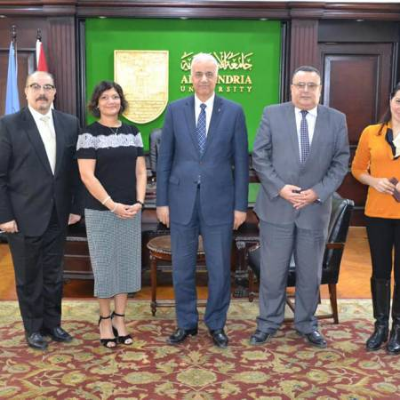 Alexandria University discuses creating joint programs with